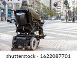 An Elderly Disabled Person On...