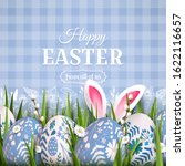 stylish easter background with... | Shutterstock .eps vector #1622116657
