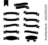 set of different shapes... | Shutterstock . vector #162220124