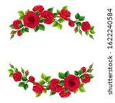 vector valentine s day frame... | Shutterstock .eps vector #1622240584