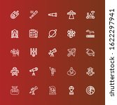 editable 25 astronomy icons for ... | Shutterstock .eps vector #1622297941