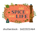 motivated quote add spice to... | Shutterstock .eps vector #1622321464