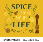 motivated quote spice up life.... | Shutterstock .eps vector #1622321467