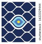 vector background of evil eye   ... | Shutterstock .eps vector #1622329444