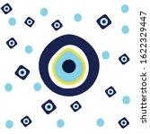 vector background of evil eye   ... | Shutterstock .eps vector #1622329447