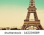 eiffel tower middle section ... | Shutterstock . vector #162234089