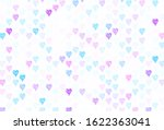 light purple  pink vector... | Shutterstock .eps vector #1622363041