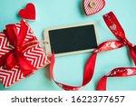 valentine's day concept. top... | Shutterstock . vector #1622377657