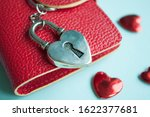 valentine's day concept. top... | Shutterstock . vector #1622377681