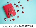 valentine's day concept. top... | Shutterstock . vector #1622377684