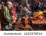 Narayanthan  Kathmandu  Nepal ...