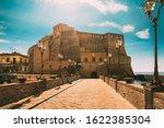 Naples  Italy. Castel Dell'ovo...
