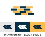 brick wall flat icon vector  ...