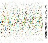 confetti background 2 | Shutterstock .eps vector #162247691
