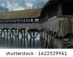 A Covered Bridge Near The...