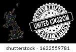 bright mesh united kingdom map... | Shutterstock .eps vector #1622559781