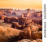 Monument Valley  Desert Canyon...