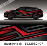 car wrap decal design vector ... | Shutterstock .eps vector #1622582407