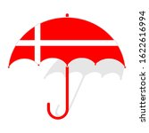 Denmark Flag Umbrella. Weather...