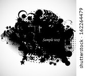 grunge background  | Shutterstock .eps vector #162264479