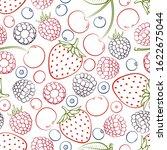 seamless pattern from falling...   Shutterstock . vector #1622675044