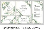 vector floral template for...   Shutterstock .eps vector #1622708947