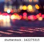 Постер, плакат: night lights in city