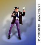 adult news photographer in a... | Shutterstock . vector #1622795797