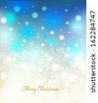 vector christmas background... | Shutterstock .eps vector #162284747