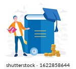 investment in education.... | Shutterstock .eps vector #1622858644