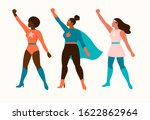 superheroes women characters.... | Shutterstock .eps vector #1622862964