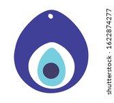 oriental evil eye protection... | Shutterstock .eps vector #1622874277
