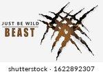 Wild Hunt Slogan With Tiger....