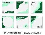 set of modern promotion square...   Shutterstock .eps vector #1622896267