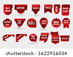 set of various labels with new... | Shutterstock .eps vector #1622916034