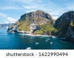 coastline rocky shore in nusa... | Shutterstock . vector #1622990494