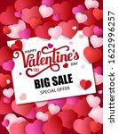 design poster big sale. happy... | Shutterstock .eps vector #1622996257