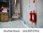 Fire Extinguishers In The...