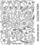 good things are going to happen ... | Shutterstock .eps vector #1623067684