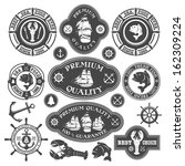 Collection Of Nautical Labels ...