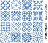 tile seamless watercolor... | Shutterstock .eps vector #1623197851