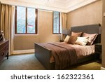 the bedroom with nice decoration | Shutterstock . vector #162322361