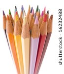 color pencils collection with...   Shutterstock . vector #16232488