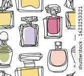 perfume seamless pattern.... | Shutterstock .eps vector #1623253321