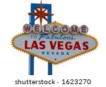 las vegas strip sign with white ... | Shutterstock . vector #1623270
