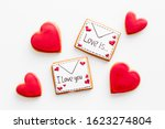 Valentine\'s Day. Gingerbread...