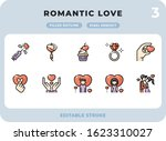 romantic love filled icons pack ...