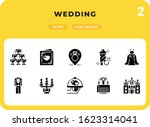 wedding flat  icons pack for ui....