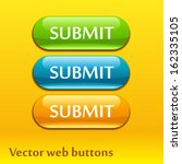 set of vector submit buttons | Shutterstock .eps vector #162335105