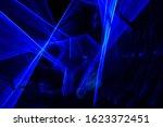 Blue Light Painting Photograph...